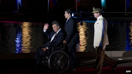 Ecuador's Disable
